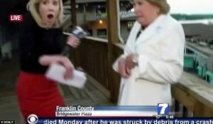 Alison Parker being shot